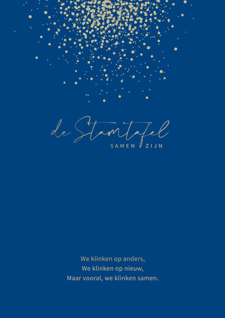 Nieuwjaarskaart De Stamtafel